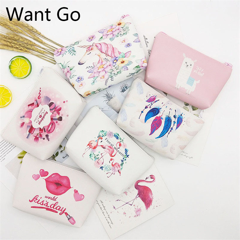 Want Go Casual Travel Cosmetic Bag Women Zipper Make Up Toiletry Beauty Wash Kit Organizer Storage Pouch Lady Case
