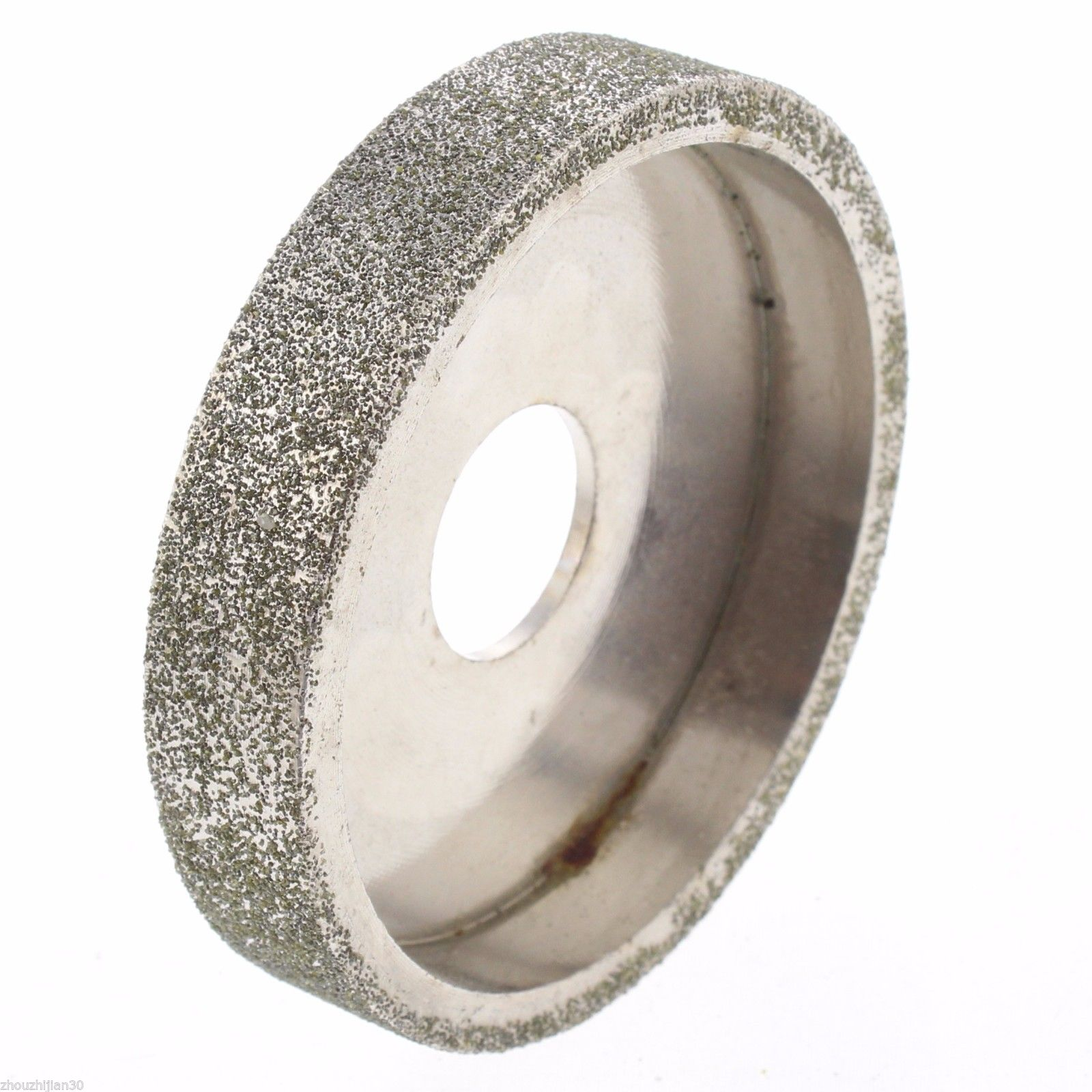 3 inch lapidary Electroplated diamond grinding wheel for Angle Grinder grit 80  ILOVETOOL v groove electroplated diamond grinding wheel for tungsten carbide stone agate megmatic material grinding e014