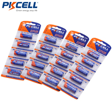 4Pack/20Pcs PKCELL Batteria 12V 23A 12V Battery Alkaline Batteries MN21 A23 12V Baterias For Doorbell Sex toy Alarm