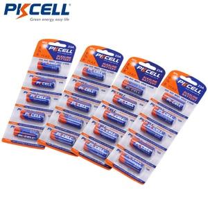 Image 1 - 4Pack/20Pcs PKCELL Batteria 12V 23A 12V Battery Alkaline Batteries MN21 A23 12V Baterias For Doorbell Sex toy Alarm