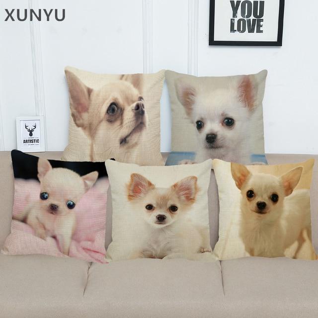 XUNYU Carino Cane di Animale Domestico Chihuahua Modello di Biancheria Coperture