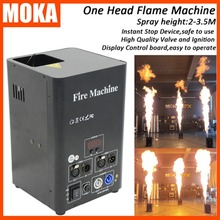 คุณภาพสูงจุดระเบิดDj Fireเครื่องStageเปลวไฟเครื่องDmx Lcdสเปรย์Stageผลเปลวไฟโปรเจคเตอร์ปลอดภัยช่อง