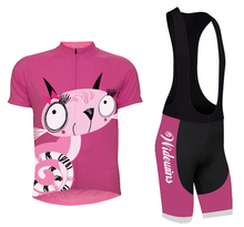 Pink Quick-Dry Cycling Clothing Sets Women Cycling Jerseys Breathable ropa ciclismo Anti-sweat Bicycle Clothes Summer Bike Suits