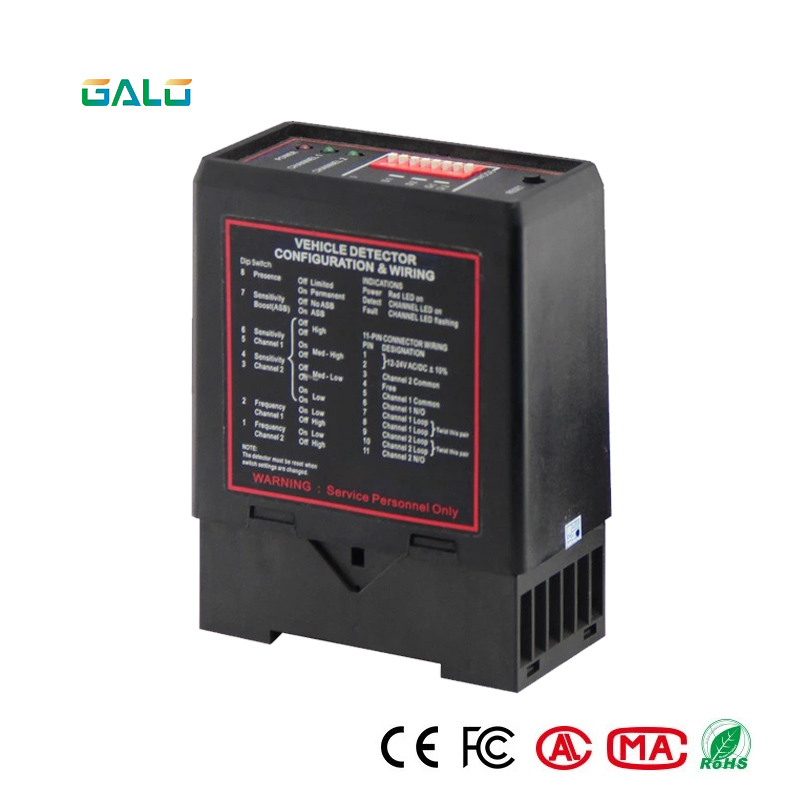 Induction-Loop-Detector Sense Car-Parking-Lot-System 220V PD132 For Intelligent Black
