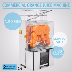 Electric Commercial Auto Feed Orange Lemon Squeezer Juicer Machine citrus squeezer automatic  Free Sipping