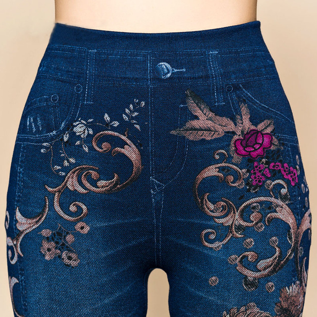 Flower Printed Jeggings