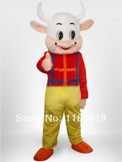 mascot Cow boy Mascot costume custom fancy costume anime cosplay kits mascotte theme fancy dress carnival costume MC60224