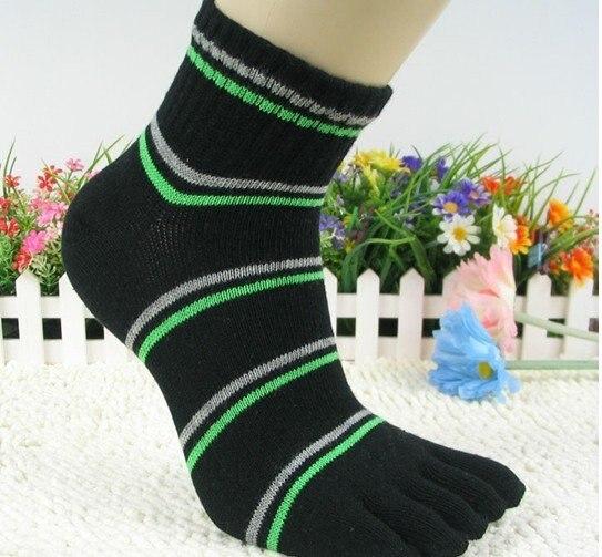 Newst Classic Solid men's toe sock - Five toes sox toesocks ToeSox - Socks for men High quality