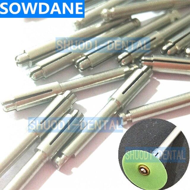 20 piezas de herramienta de barra de sujeción de disco de pulido Dental Mandrel Soflex Flexi disc Fit RA vástago para pulir el disco 3 M 1983RA