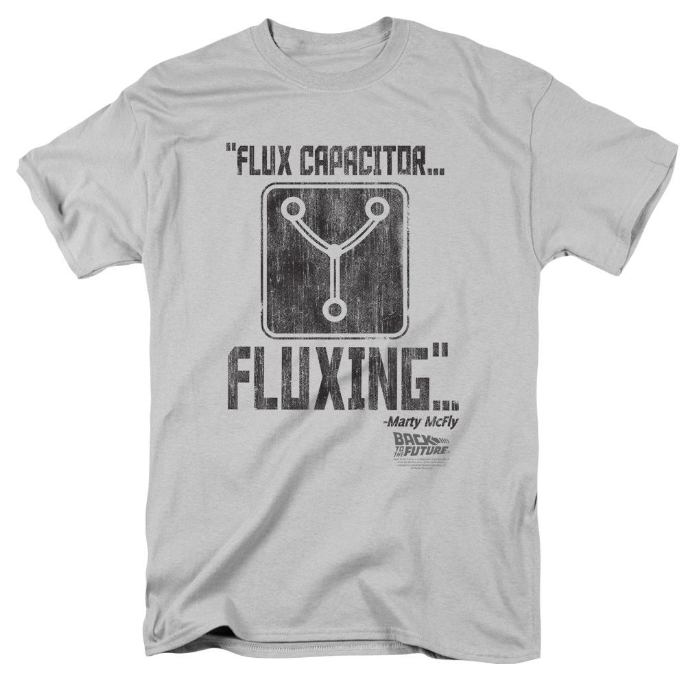Back to the Future Movie FLUX CAPACITOR T-Shirt All Sizes