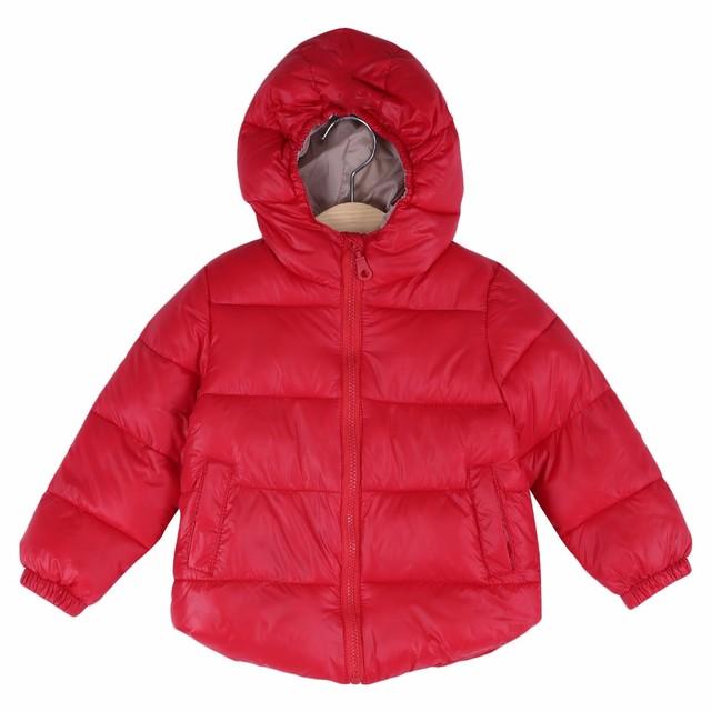 Charmma 2016 Pato Do Bebê Para Baixo Meninos Casaco de Inverno Quente Para Baixo Casacos Crianças Roupas de Bebê Meninas Outerwear Jaqueta Com Capuz Snowsuit Parkas
