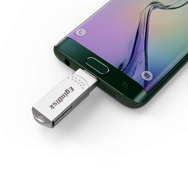 OTG USB Flash Drive para el teléfono Android Usb 3,0 Pen Drive 128 GB tipo C Micro Usb Stick 16 GB 32 GB 64 GB Pendrive para el tipo-C