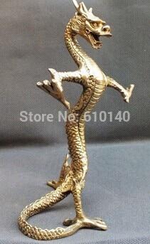 Rare bronze statue of the dragon High: 220mm
