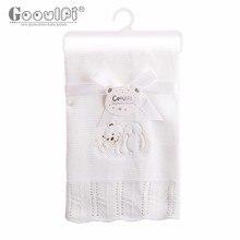 Gooulfi детский плед одеяло детское детское одеяло одеяло для новорожденных новорожденных детские одеяла коврик вещи для ванной детское одеяло зимнее swaddleme пеленать одеяла для детей детский плед вязаный