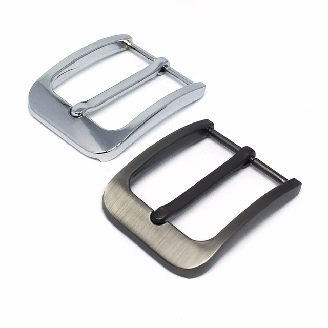 2pc DIY Leather Craft Hardware 35mm Pin Buckle Belt Buckle Brushed Metal Fashion Mens Womens Jeans Accessories Cosplay For 3.3cm