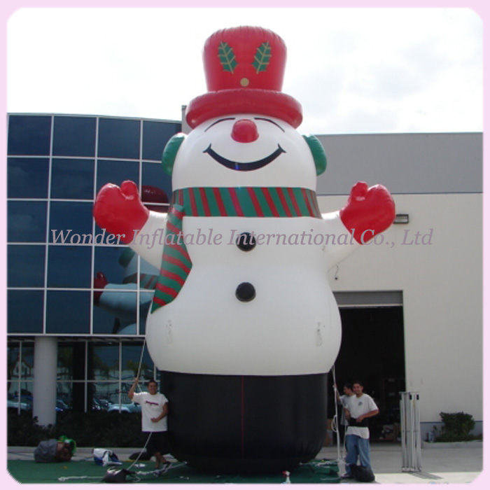 aliexpresscom buy hot sale 8m high huge outdoor inflatable christmas decorations snowman for advertising from reliable snowman decorating ideas suppliers - Huge Inflatable Christmas Decorations