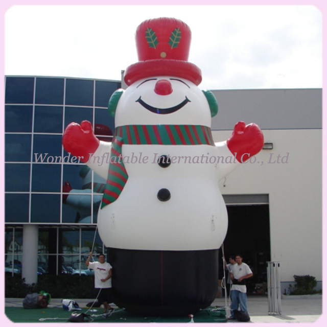 Hot sale 8M high huge outdoor inflatable christmas decorations snowman for  advertising - Aliexpress.com : Buy Hot Sale 8M High Huge Outdoor Inflatable