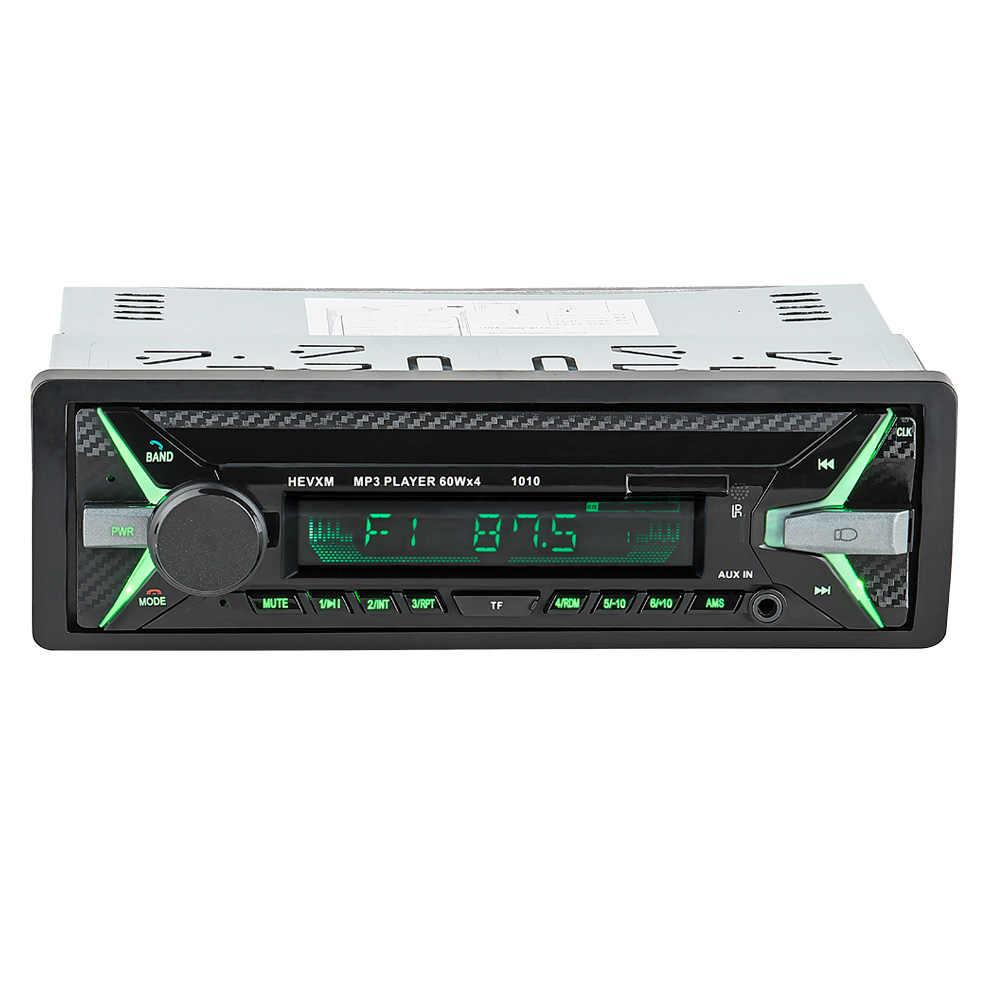 LaBo 12 V Auto Radio 1DIN de Audio estéreo MP3 jugador receptor de Radio FM soporte de entrada Aux USB SD MMC + Control remoto