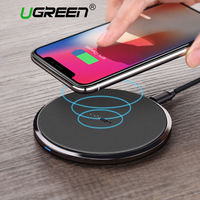 Ugreen 10W Qi Wireless Charger For Samsung S8 S8 S7 Edg Fast Wireless Charging For IPhone