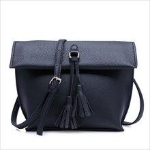 Luxury Handbag Designer High Quality Fashion Casual pu Leather Clutch Opening Tassel Shoulder Bags Ladies Messenger  Des