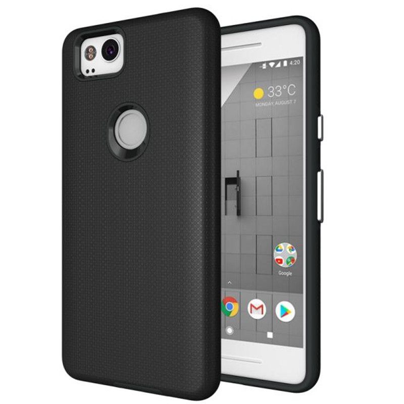 For Google Pixel 2 Case Anti-knock TPU&PC Plastic Dual Heavy Duty armor Shield Cover For Google Pixel2 Mobile Phone