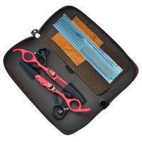 6 0 Professional Kasho Hair Scissors Salon Cutting Thinning Hair Shears Barber Hairdressing Scissosrs Sets LZS0322