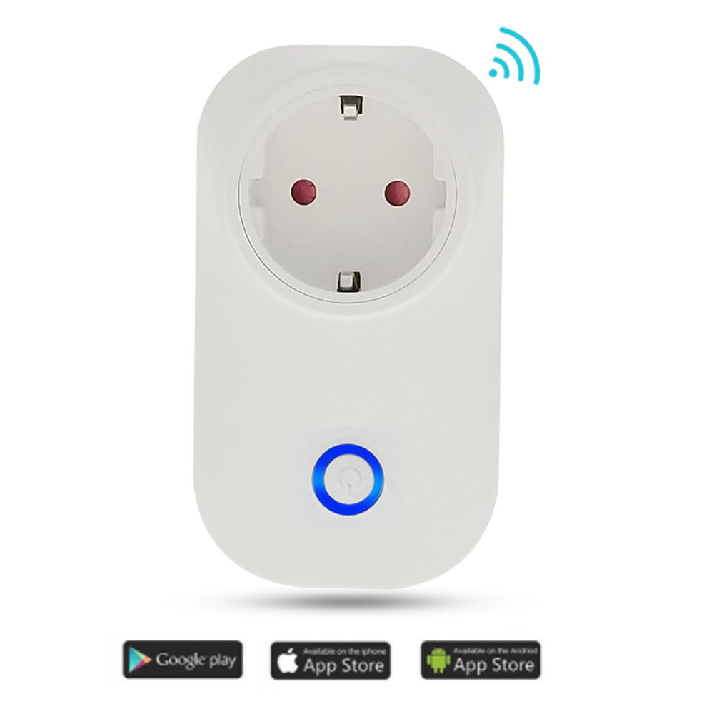 2019 New Power Meter Smart Wireless Wifi Socket Power Plug 10a 3500w With Energy Meter Ios Android Remote Control To Clear Out Annoyance And Quench Thirst