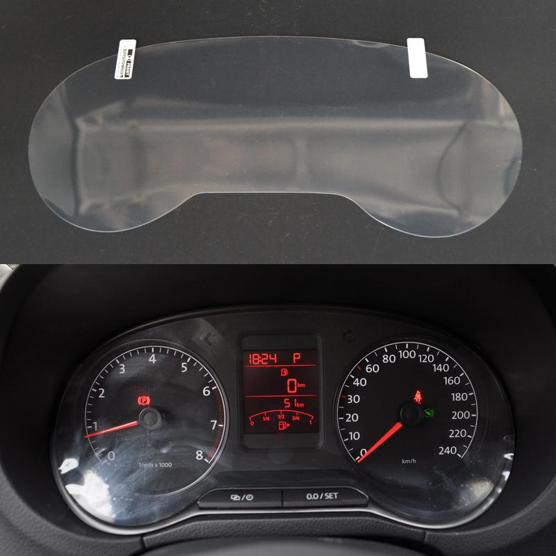 Car Dashboard Paint Protective Film For Volkswagen POLO 2009 2010 2011 2012 2013 2014 2015 Light Transmitting Accessories