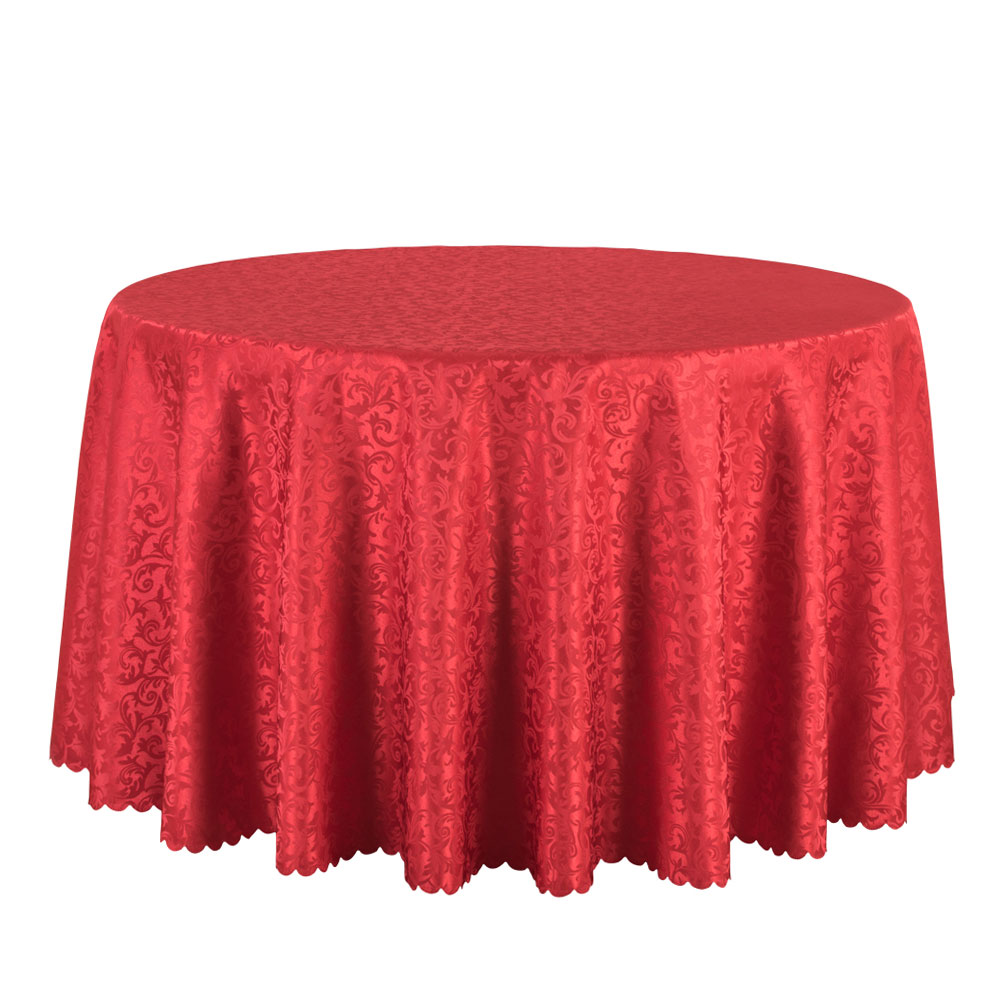 Round Table Cloth Hotel Quality Easy Iron 275 Gsm Round Polycotton