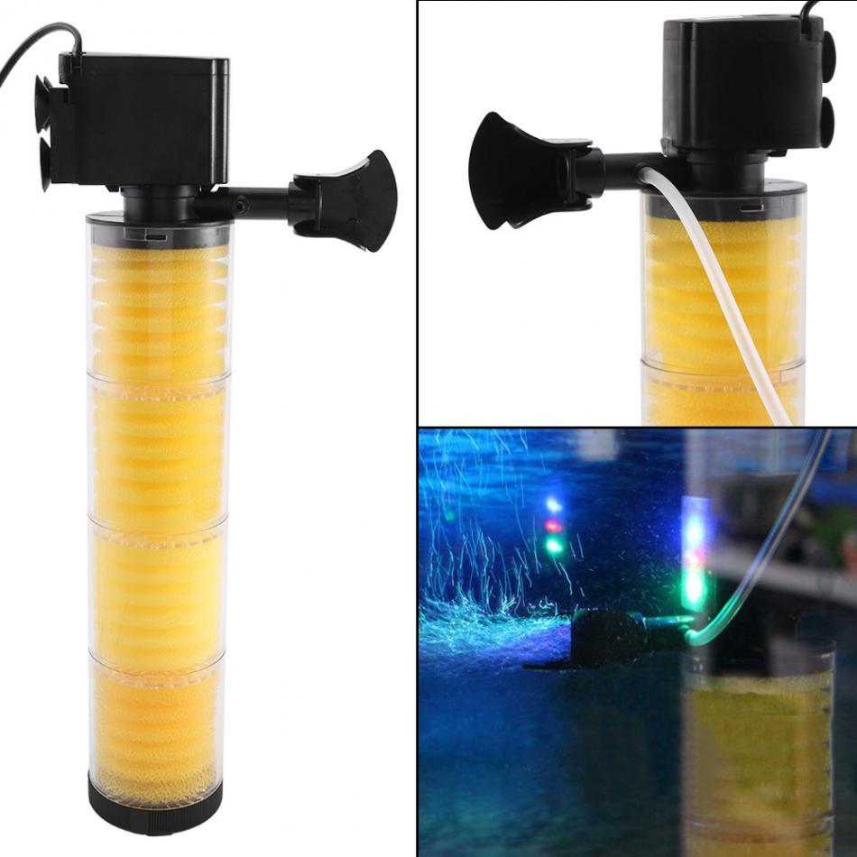 Gewissenhaft Mini Pumpe Luft Kompressor Wasser Pumpe Für Aquarium Aquarium 20 Watt 25 Watt 30 Watt Für Wasser Flow Wasser Zirkulierenden Filterung Sanitär