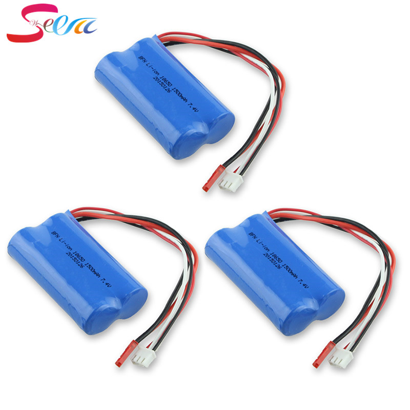 MJX F 45 Helicopter Spare Parts 7.4V 1500mAh Battery DH 9053 9101 f45 9118 rc Helicopter parts 3pcs квадрокоптер радиоуправляемый mjx bugs 3