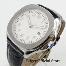 BLIGER Dress Mens Watch 39mm Mechancial Automatic Wristwatch Sapphire Crystal Sterile Dial