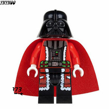 YNYNOO 5Pcs/Set Darth Vader Christmas Advent Calendar STAR WARS TMNT friends DIY Assemble Building Blocks Kids Xmas Toys Gift