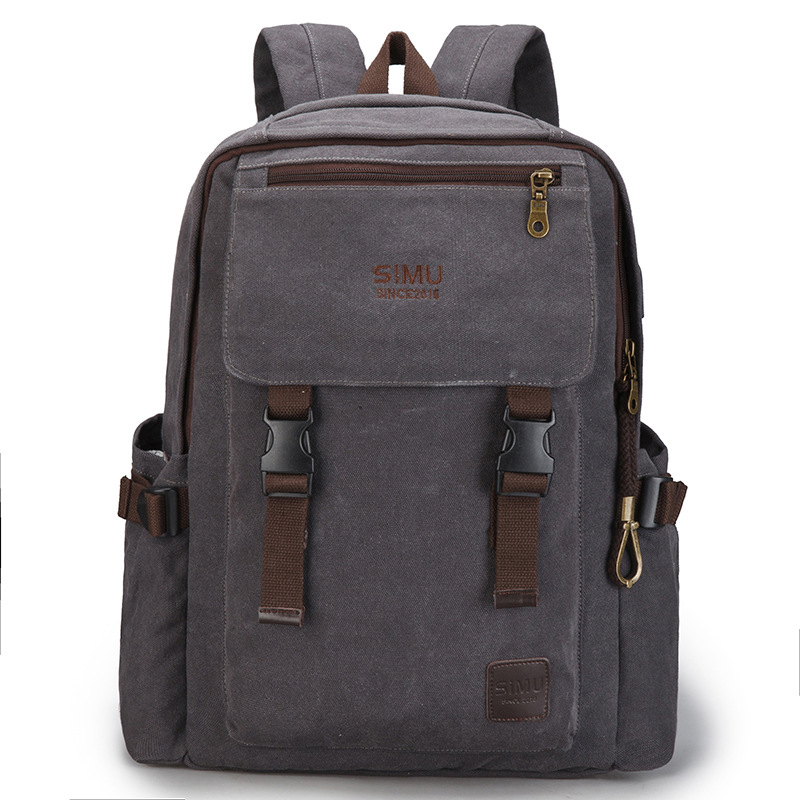 mens Casual Oxford laptop computer backpack Multi-function Stylish large capacity travel bags Mens Vintage canvas backpackmens Casual Oxford laptop computer backpack Multi-function Stylish large capacity travel bags Mens Vintage canvas backpack