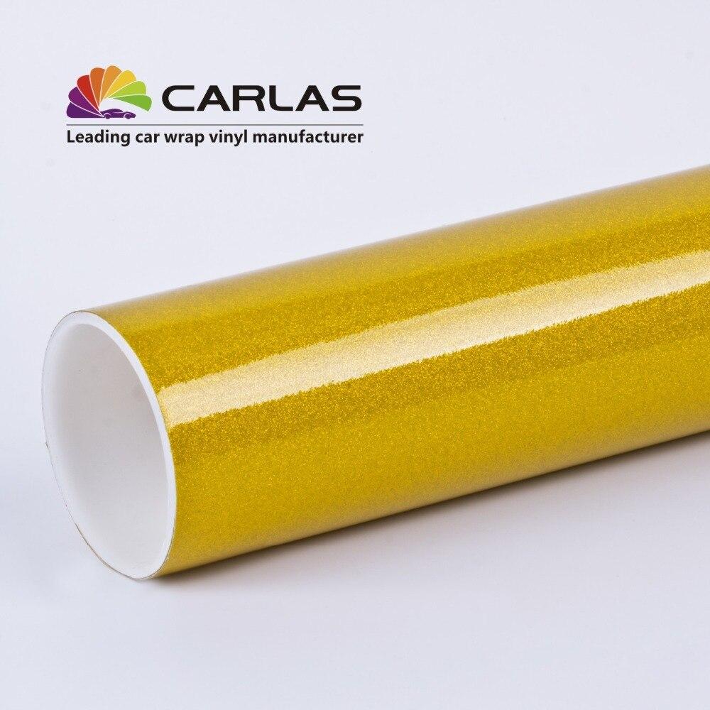 Film de perles en métal Carlas autocollants en vinyle de haute qualité pour emballer les voitures