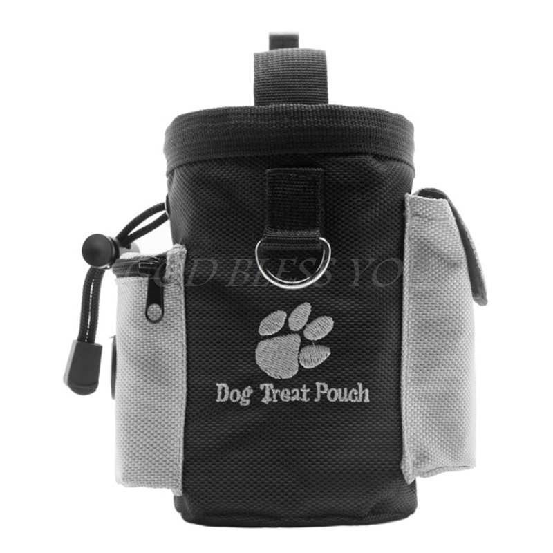 1 Pc Schwarz Hunde Behandeln Taschen Haustier Hund Welpen Obedience Agility Bait Ausbildung Wasserdicht Lebensmittel Treat Tasche Tasche Hell In Farbe