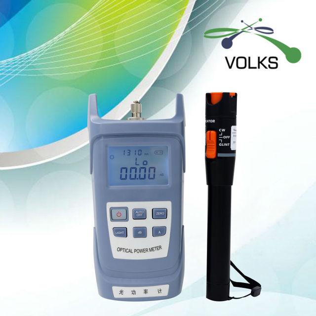 2 en 1 medidor de potencia De Fibra óptica y Visual fault locator 10 mw envío gratis
