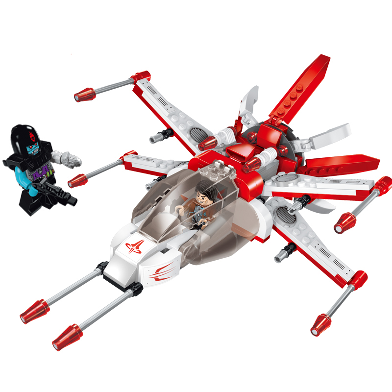 Models building toy 1610 star wars Fighter 207pcs Building Blocks compatible with lego wars toys & hobbies for children