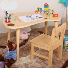 Children Tables kids Furniture solid wood Ankle kids table kindergarten painting table study table bureau enfant new 100*62*50cm(China)