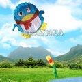 Envío gratuito de alta calidad nuevo Pingüino Princess soft Cometas venta caliente con mango y la línea de kite juguetes al aire libre