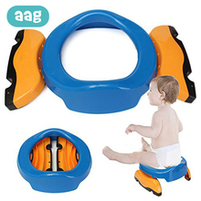 AAG Portable Baby Potty Toilet Car Travel Folding Child Toilet Potty Kids Training Seat Chair Children Urinal for Girls Boys 20