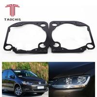 Taochis Car Styling frame adapter module DIY Bracket Holder for VW Volkswagen Sharan Hella 3 5 Q5 Projector lens