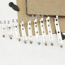 30 sztuk DIY bezpieczne agrafki ze stali nierdzewnej baza broszka z agrafka używać do broszka biżuteria akcesoria odzież tanie tanio Ocena biżuteria 1 3g 0inch Baza broszki Metal Pins Brooch Jewelry Accessories 15mm 20mm 2 5mm 30mm 32mm 35mm 38mm 40mm 45mm