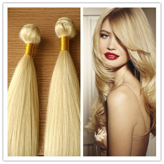 Remy Russian Blonde Hair Extensions 10 30 Stunning 613 Blonde