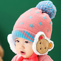 New 2016 Baby Winter baby Hats Cartoon Baby Boy/Girl  cotton Baby star Beanies(12M-3Years Old)