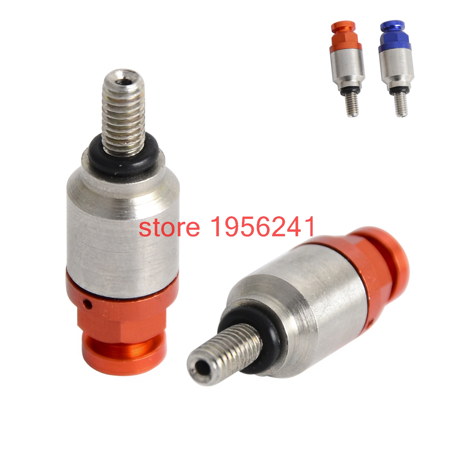 NICECNC M4x0.7 Fork Air Bleeder Valves For KTM EXC SX SXF XC XCW MXC EXCF SMR 50 65 85 105 150 200 250 350 400 450 500 525 530 motorcycle front fork bleeder air valves