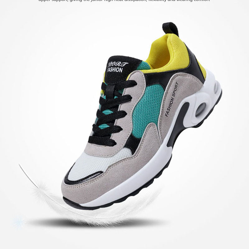 Women Spring Fashion Casual Shoes Breathable Damping Female Comefortable Womens Vulcanize Shoes Ladies Walking Sneakers