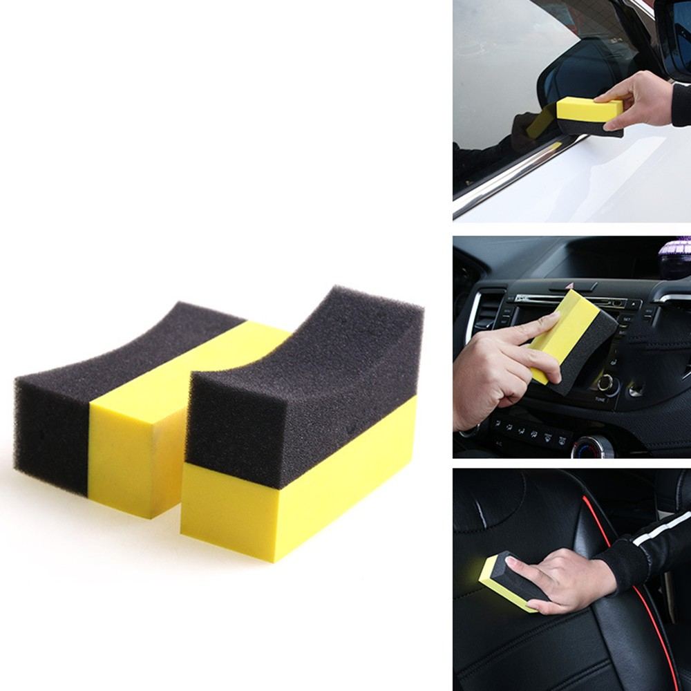 Sponge-Brush Cleaning-Tool Car-Interior Auto-Accessories Clear 1pc Waxing Residual-Wax