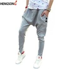 e951b4227aaab De los hombres de la moda Pantalones Harem hombre delgado Casual pantalones  grandes de la entrepierna