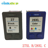Ink Cartridge For HP 27 28 For HP 8727 8728 5608 4255